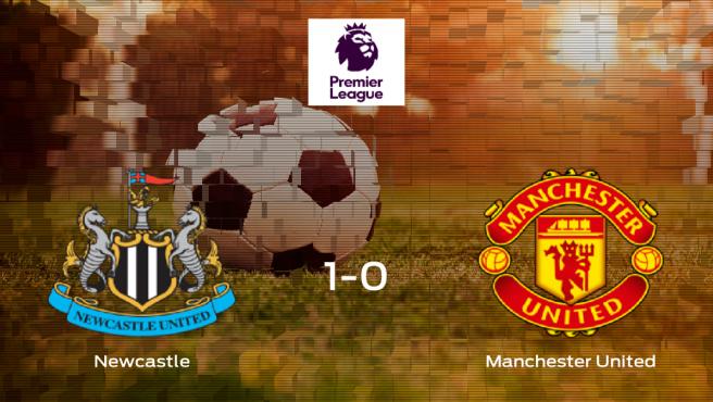El Newcastle se queda con los tres puntos frente al Manchester United (1-0)