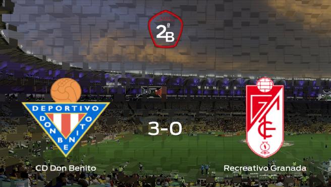 El Don Benito suma tres puntos tras pasar por encima al Recreativo Granada (3-0)