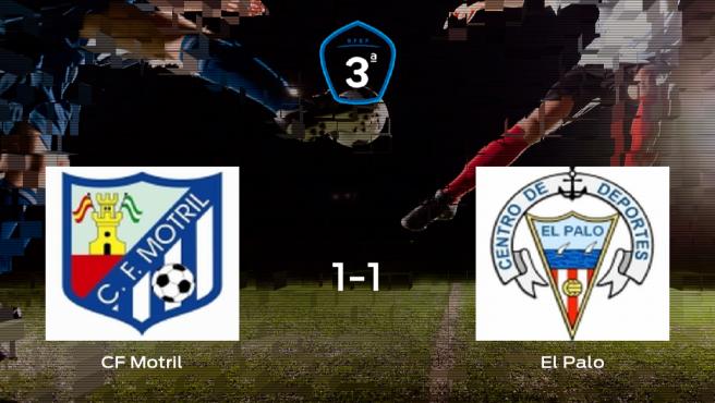 Reparto de puntos en el Municipal Escribano Castilla: Motril 1-1 El Palo