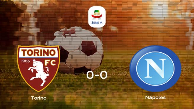 El Torino y el Nápoles solo suman un punto (0-0)