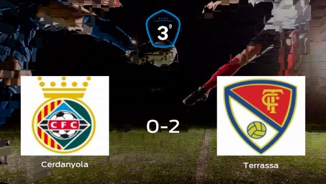 El Terrassa derrota en el Municipal Les Fontetes al Cerdanyola (0-2)