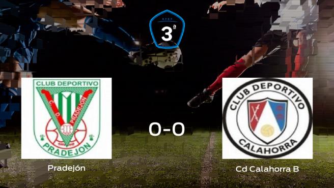 El Pradejón y el CD Calahorra B solo suman un punto (0-0)