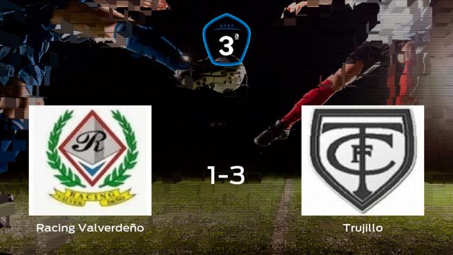 El Trujillo gana al Racing Valverdeño por 1-3