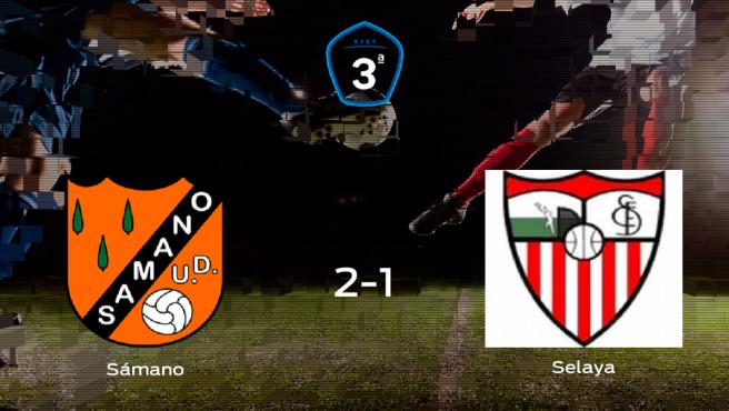 Tres puntos para el equipo local: Sámano 2-1 Selaya
