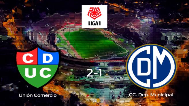 El Unión Comercio gana 2-1 al CC Deportivo Municipal y se lleva los tres puntos