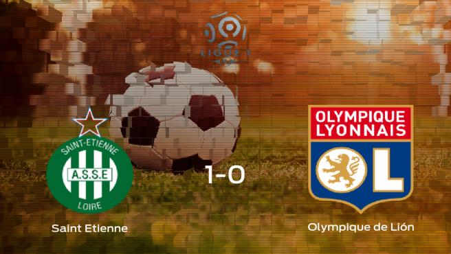 Victoria del AS Saint Etienne por 1-0 frente al Olympique Lyon