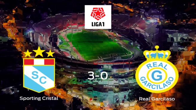 El Sporting Cristal muestra su poderío tras golear al Real Garcilaso (3-0)