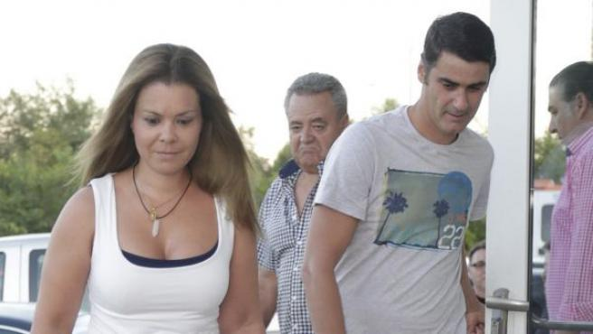 La pareja formada por Jesulín de Ubrique y María José Campanario.