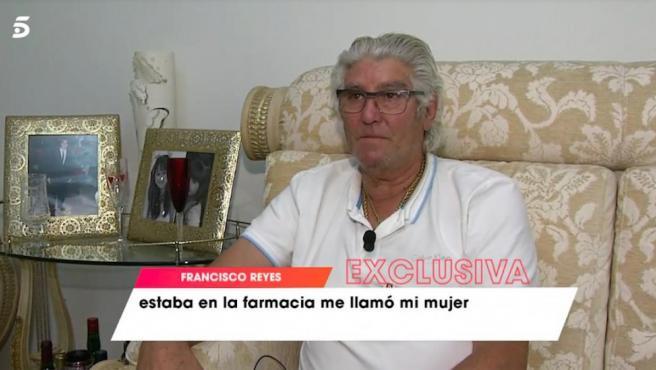 Francisco Reyes, padre del fallecido futbolista.