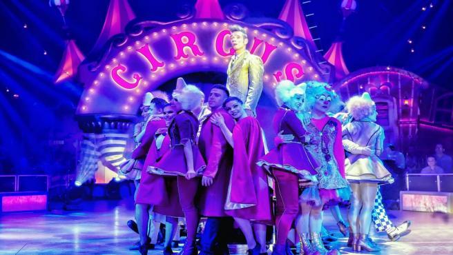 Circlassica en una actuación