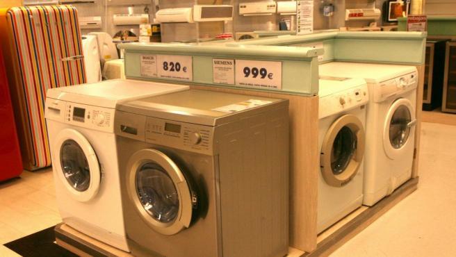 Electrodomésticos, lavadoras