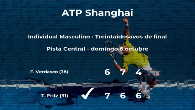 El tenista Fernando Verdasco cae eliminado en los treintaidosavos de final del torneo ATP 1000 de Shanghái