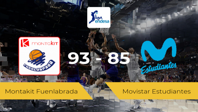 El Montakit Fuenlabrada consigue la victoria frente al Movistar Estudiantes por 93-85