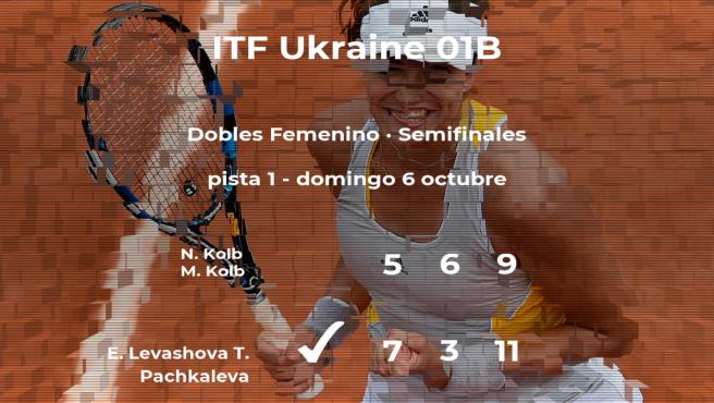 Kolb y Kolb se quedan fuera de la final del torneo de Chornomorsk