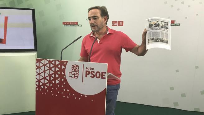 El parlamentario autonómico del PSOE, Felipe López, en una imagen de archivo.