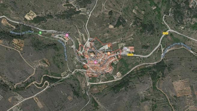 Entorno de La Pobla de Benifassà