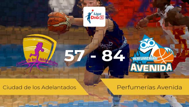 El Perfumerías Avenida logra la victoria frente al Ciudad de los Adelantados por 57-84