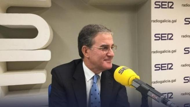El presidente del Tribunal Superior de Xustiza de Galicia (TSXG), José María Gómez y Díaz-Castroverde, en una entrevista a la Cadena Ser.