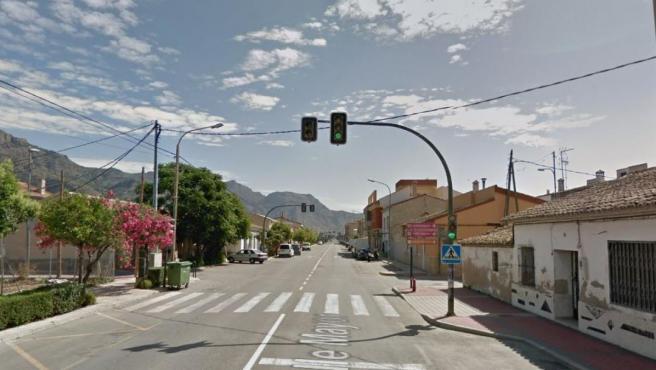 Imagen de la pedanía de El Siscar (Santomera, Murcia).