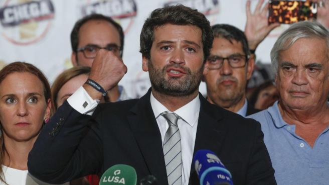 Andrés Ventura, primer diputado ultraderechista en Portugal.