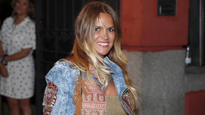 La exconcursante de 'GH 2' y colaboradora de Telecinco, Marta López.