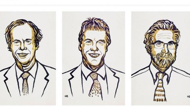 Los tres premiados con el Nobel de Medicina 2019, de izq a dcha: Kaelin, Ratcliffe y Semenza.