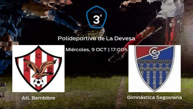 Previa del partido de la jornada 9: Atl. Bembibre contra Gimnástica Segoviana