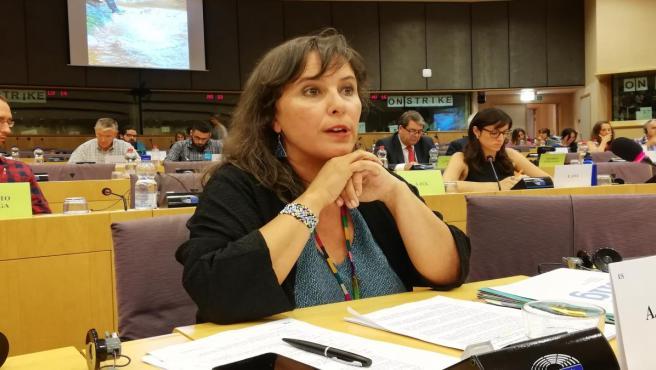 La parlamentaria Ana Miranda (BNG)