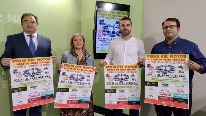 Presentación de la III Feria del Motor Ciudad de Vélez-Málaga