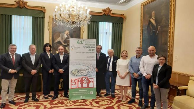 Presentación del 41 Congreso Nacional Semergen en el Ayuntamiento de Gijón