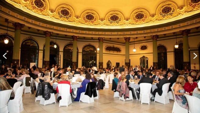 Imagen de una edición anterior de la cena de gala de la Fundación Pequeño Deseo.