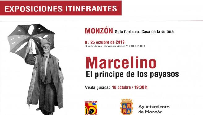 Cartel de la exposición 'Marcelino. El príncipe de los payasos'