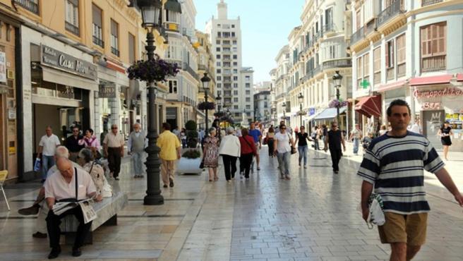 Ciudadanos, calle, ciudad, población