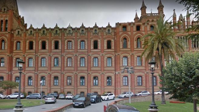 El colegio Sant Ignasi de Sarrià, lugar donde sucedieron los hechos.