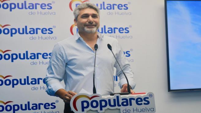 Juan José Cortés, en rueda de prensa.
