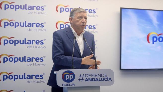 El senador del PP por Huelva Carmelo Romero.