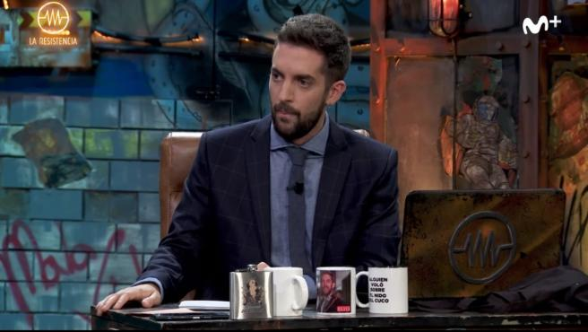 David Broncano en 'La resistencia'.