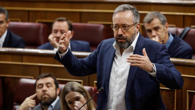 Juan Carlos Girauta en el Congreso de los Diputados en 2017.