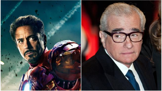 Robert Downey Jr. opina sobre la polémica de Martin Scorsese