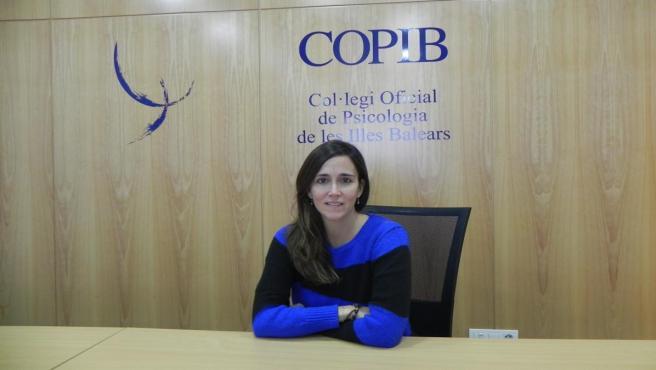 La vocal de Psicología Clínica del COPIB, Mariona Fuster.