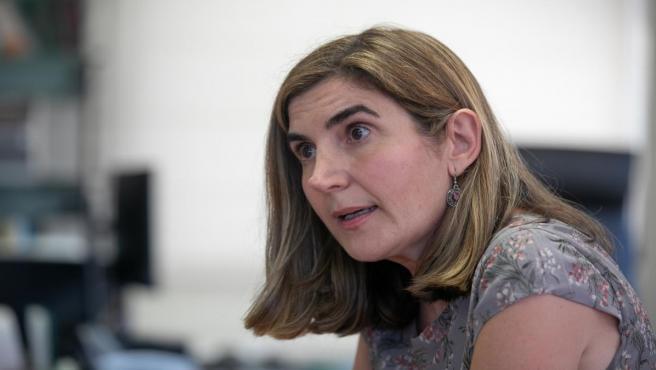 La consejera de Empleo, Formación y Trabajo Autónomo, Rocío Blanco, en una entrevista concedida a Europa Press.