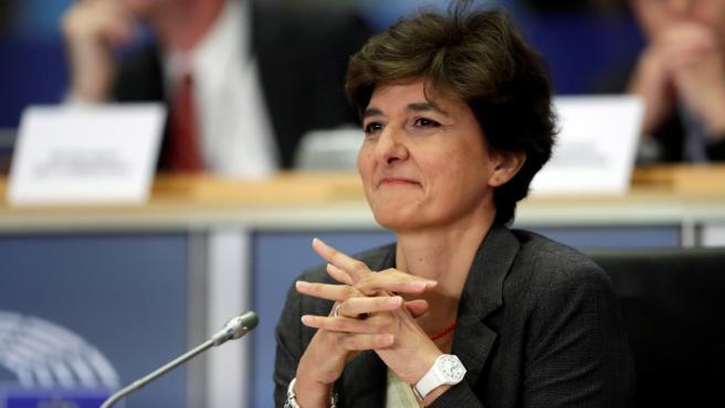 Imagen de Sylvie Goulard en el Parlamento Europeo