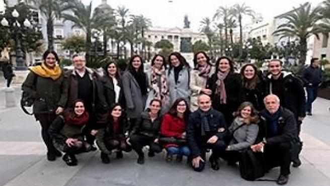 Grupo de investigadores de la UCA