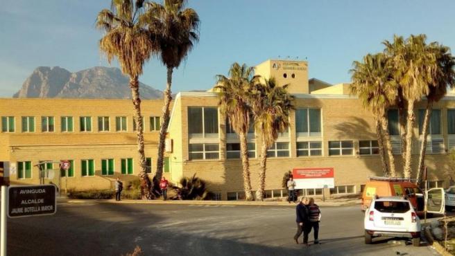 El Hospital Marina Baixa de Villajoyosa, donde algunos de los afectados por fiebre Q fueron ingresados.