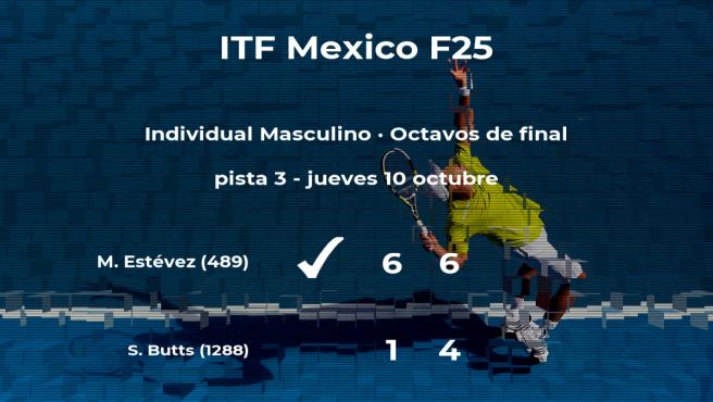 El tenista Maximiliano Estévez pasa a la siguiente fase del torneo de Cancún tras vencer en los octavos de final