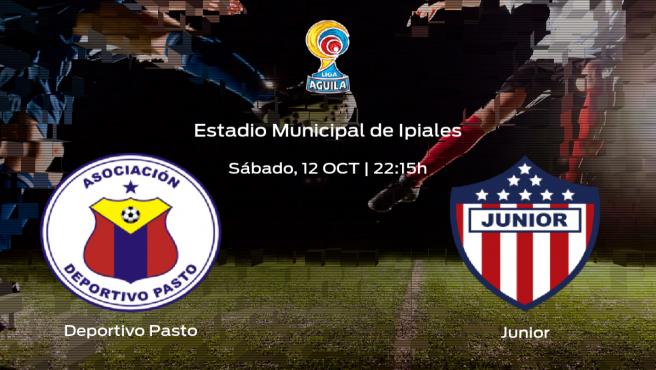 Previa del partido: el Deportivo Pasto recibe al Junior de Barranquilla