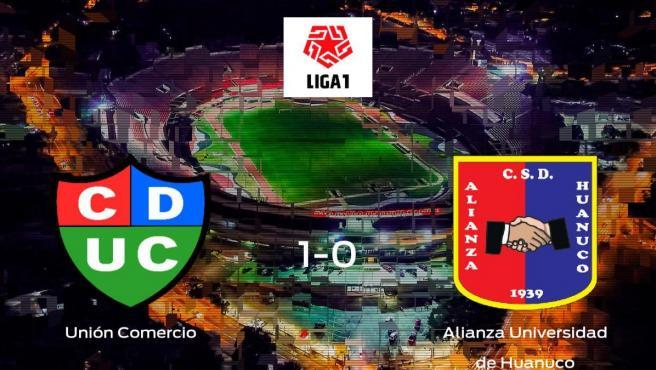 Los tres puntos se quedan en casa: Unión Comercio 1-0 Alianza Universidad de Huanuco