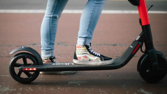 Patinete eléctrico JUMP by Uber.