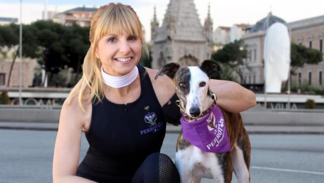 Alejandra Botto, presidenta de la Asociación Nacional Perrotón y de la Fundación Arca de Noé.