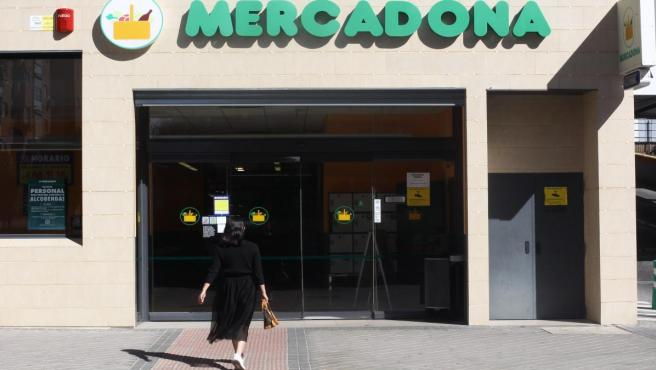 Imagen de un supermercado Mercadona en Madrid.